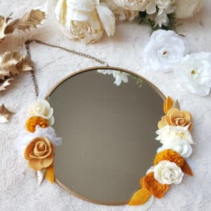 miroir moutarde
